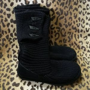 Knitted Sweater boots